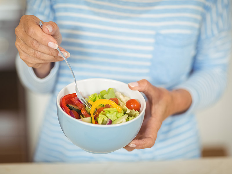 Dieta para eliminar cartucheras